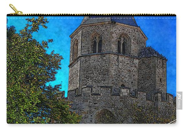 Medieval Bell Tower 1 Carry-all Pouch