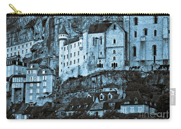 Medieval Castle In The Pilgrimage Town Of Rocamadour Carry-all Pouch