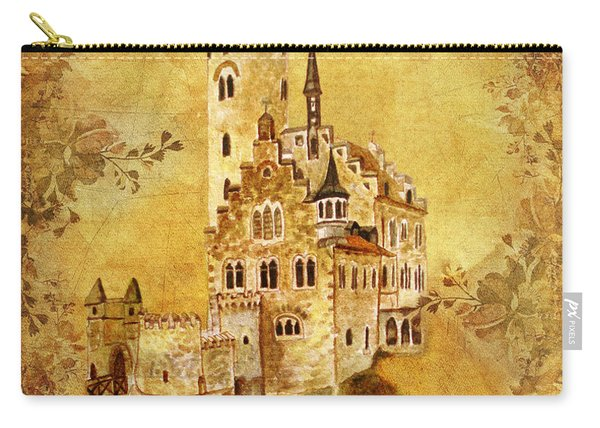 Medieval Golden Castle Carry-all Pouch