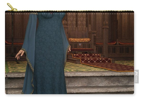 Medieval Queen Carry-all Pouch