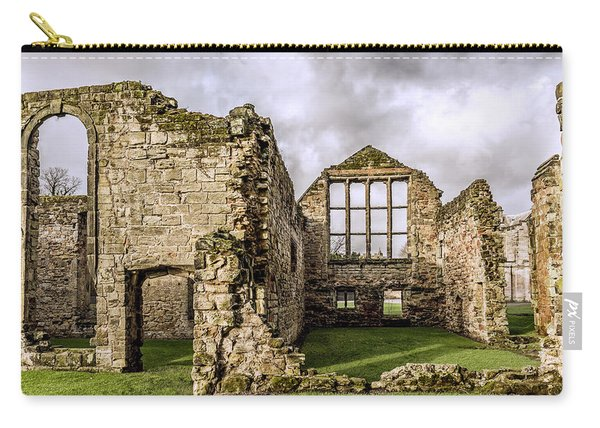 Carry-all Pouch featuring the photograph Medieval Ruins by Nick Bywater