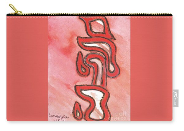 Meditation On The Four Letter Name Of God Carry-all Pouch