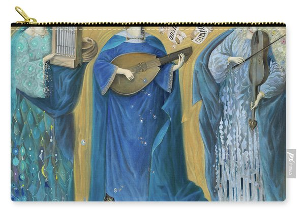 Meditations On The Holy Trinity  After The Music Of Olivier Messiaen, Carry-all Pouch