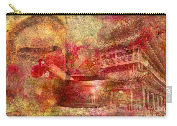 Meditative Montage 2015 Carry-all Pouch