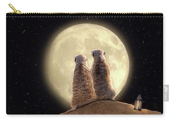 Meerkat Moon Carry-all Pouch