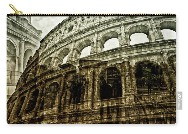 Meet Me At The Colosseum Carry-all Pouch
