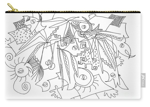 Meeting Under The Stars Carry-all Pouch