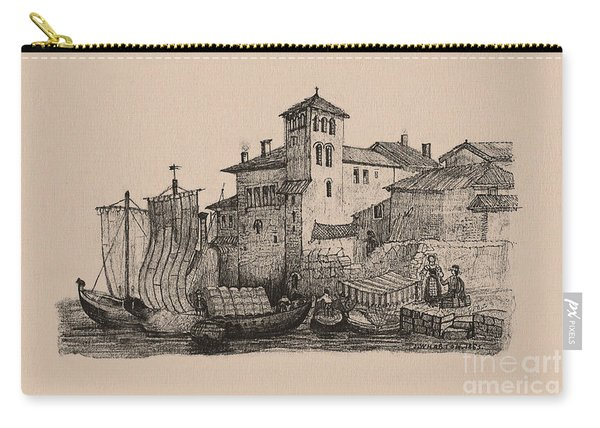 Meetings At The Dock Carry-all Pouch