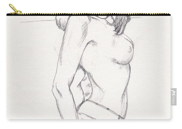 Megan - Sketch Carry-all Pouch