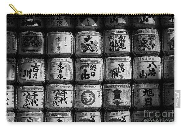 Meiji Shrine Sake Casks Carry-all Pouch