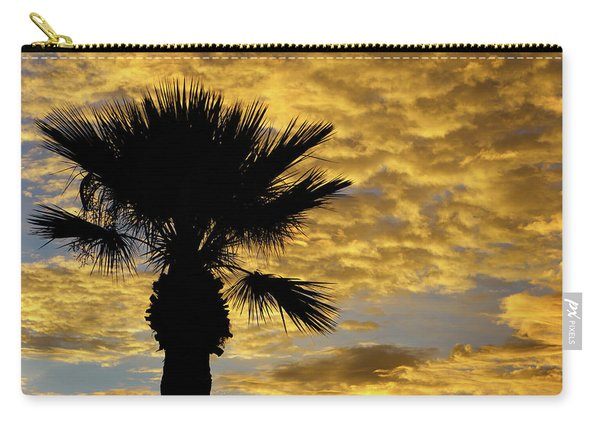 Mellow Yellow Sunset Carry-all Pouch