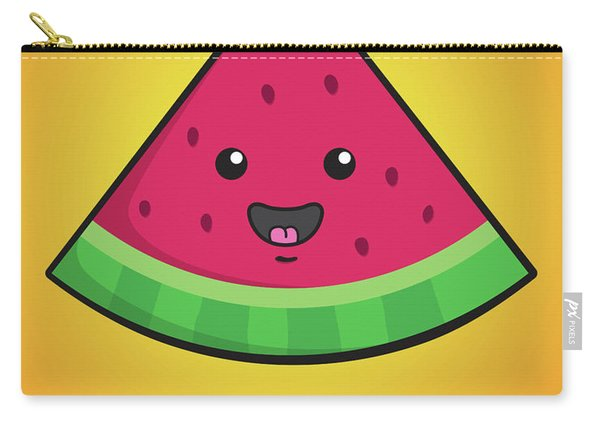 Melon Head Carry-all Pouch