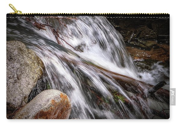 Melting Snow Falls Carry-all Pouch