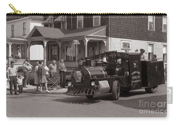 Memorial Day Parade  Ashley Pa  Corner Of W Hartford And Brown  Circa 1965 Carry-all Pouch