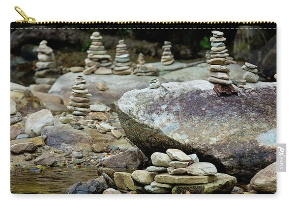 Memorial Stacked Stones Carry-all Pouch