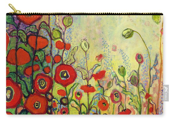 Memories Of Grandmother's Garden Carry-all Pouch