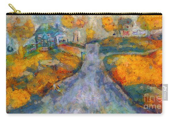 Memories Of Home In Autumn Carry-all Pouch