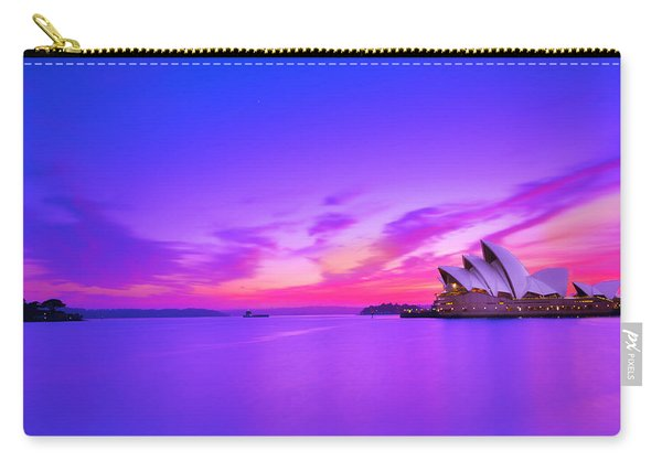 Memories Of Sydney 2 Carry-all Pouch