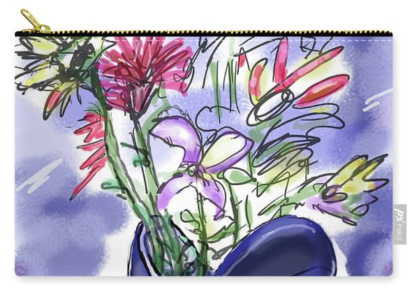 Memory Of Spring Carry-all Pouch
