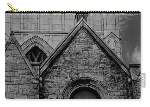 Memphis Cross In The Clouds Bw Carry-all Pouch