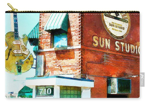 Memphis Sun Studio Birthplace Of Rock And Roll 20160215wcstyle Carry-all Pouch