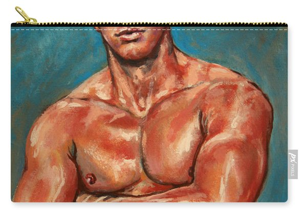 Man Sweat Carry-all Pouch