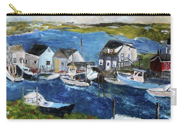Menemsha Fishing Village Carry-all Pouch