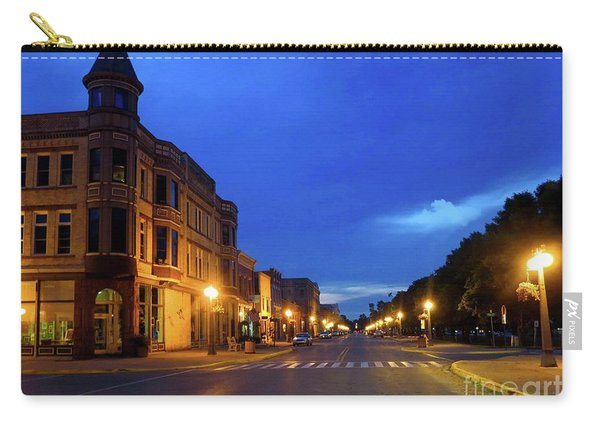 Menominee Michigan Night Lights Carry-all Pouch