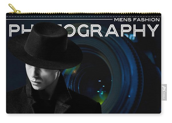 Mens Fashion Photography Are You Photogenic Carry-all Pouch