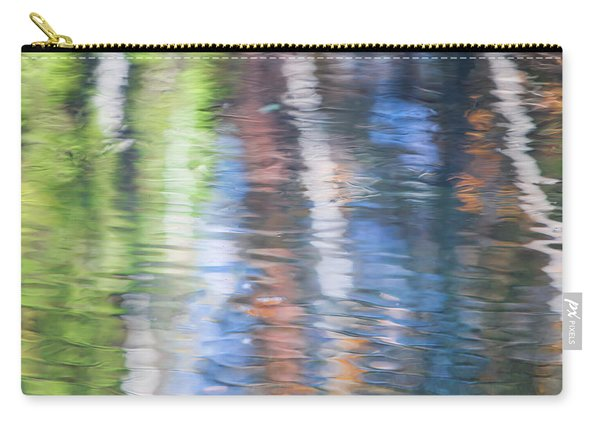 Merced River Reflections 8 Carry-all Pouch