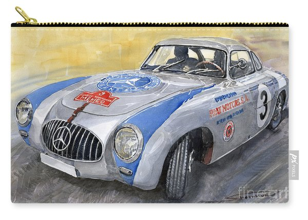 Mercedes Benz 300 Sl 1952 Carrera Panamericana Mexico  Carry-all Pouch