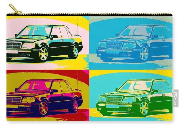 Mercedes Benz E 500 Pop Art Panels Carry-all Pouch