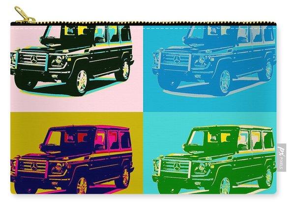 Mercedes Benz G Class Pop Art Carry-all Pouch