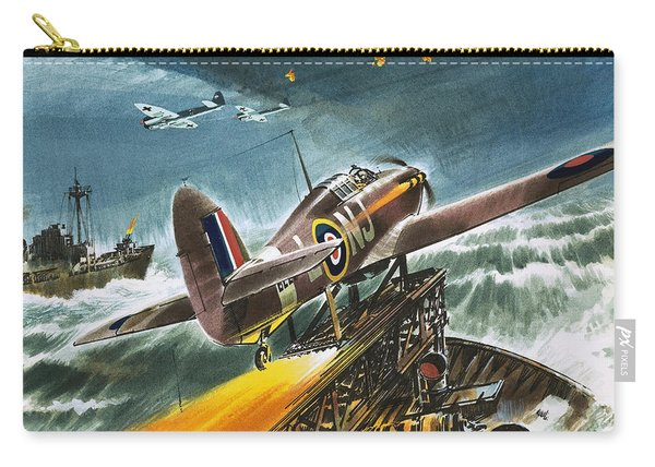 Merchant Navy Fighter Carry-all Pouch