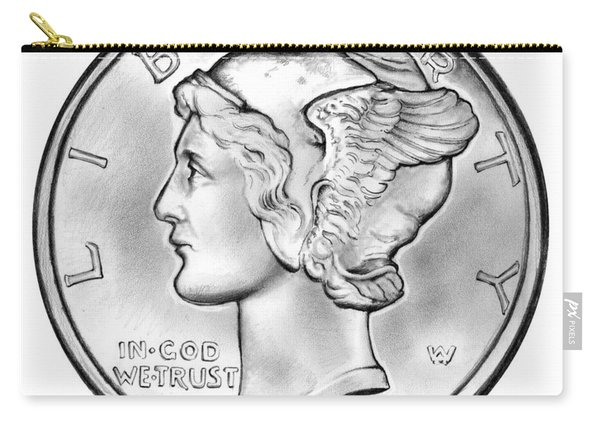 Mercury Dime Carry-all Pouch