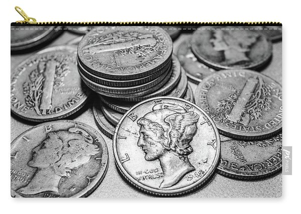 Mercury Dimes Carry-all Pouch