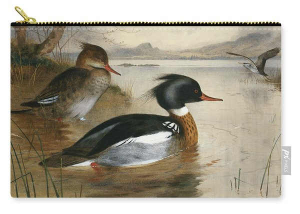 Mergansers, On Loch Maree Carry-all Pouch
