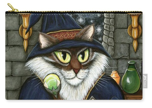 Merlin The Magician Cat Carry-all Pouch