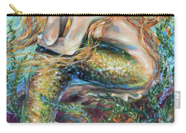 Mermaid Contemplating Carry-all Pouch