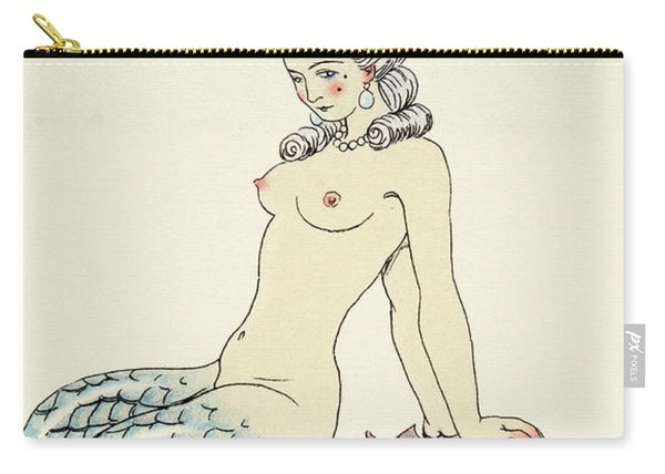 Mermaid, From Les Liaisons Dangereuses  Carry-all Pouch