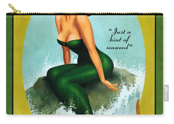 Mermaid Spiced Rum Carry-all Pouch