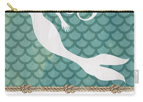 Mermaid Waves 1 Carry-all Pouch