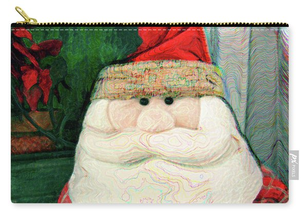Merry Christmas Art 15 Carry-all Pouch