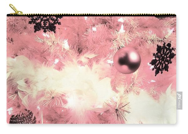 Merry Christmas In Pink Carry-all Pouch