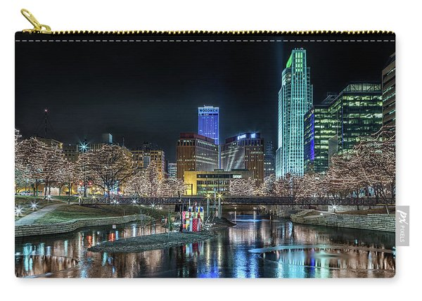 Merry Christmas Omaha Carry-all Pouch