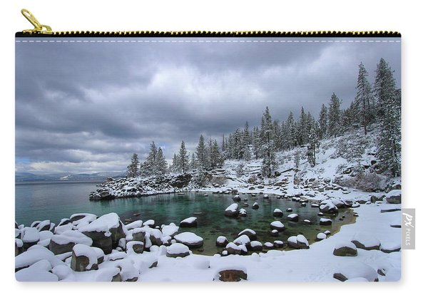 Carry-all Pouch featuring the photograph Merry Christmas by Sean Sarsfield