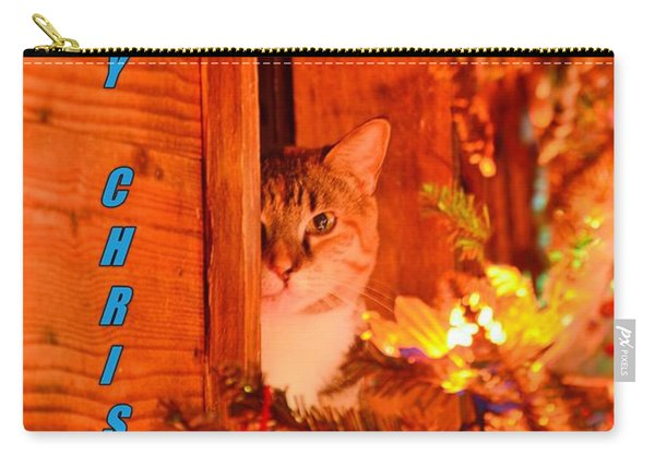 Merry Christmas Waiting For Santa Carry-all Pouch