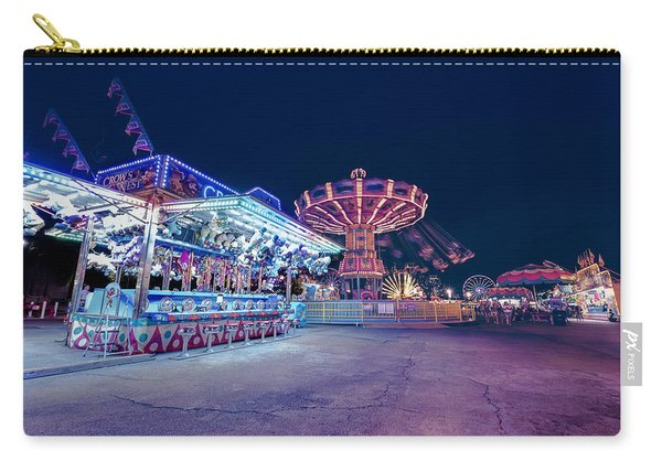 Merry Go Creepy Carry-all Pouch