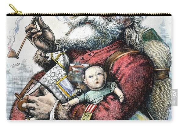 Merry Old Santa Claus Carry-all Pouch