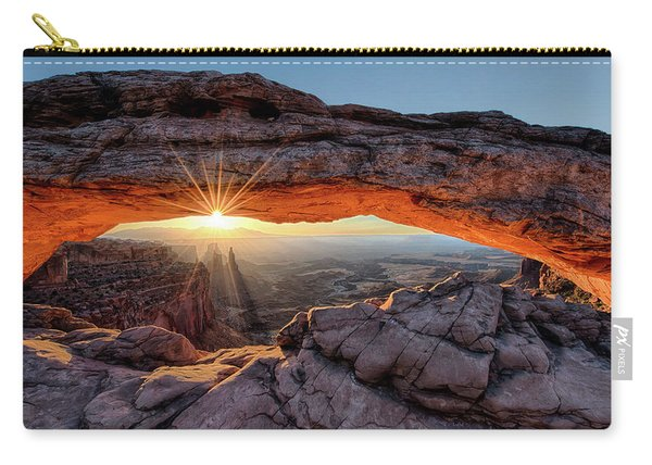Mesa Arch Sunburst By Olena Art Carry-all Pouch